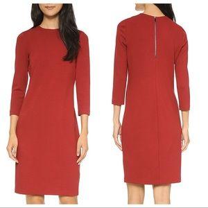 Vince | Crimson 3/4 Sleeve Dress